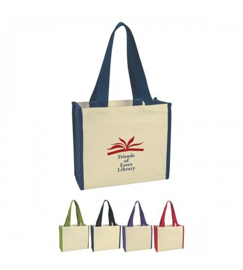 Çantalar - Körüklü Bez Çanta